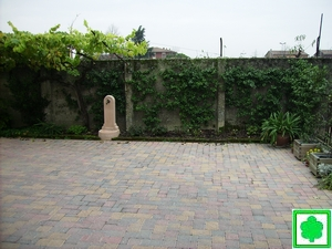 Prima e dopo la realizzazione del giardino for Giardinieri verona